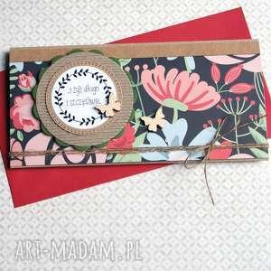 kartka - kopertówka ślubna meadow, ślub