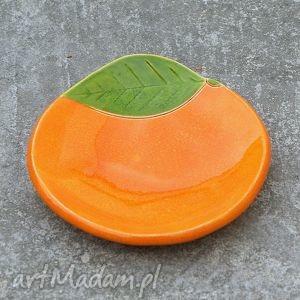 Miseczka pomarańcza, fusetka, miseczka, cytrusy, kuchnia, kolorowe