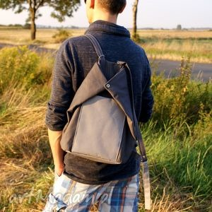 roweLOVE vege szary plecak, worek, torba, rower