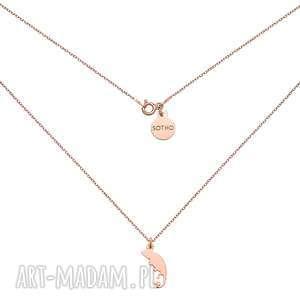 naszyjnik z różowego złota z kameleonem, złoto, trendy