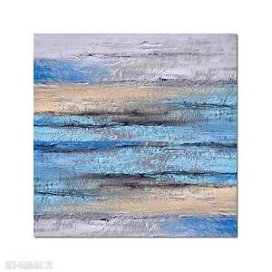 Delta N1, abstrakcja, nowoczesny obraz ręcznie malowany, obraz, ręcznie, malowany