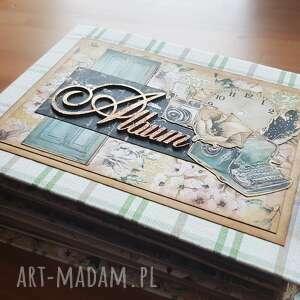 Album w stylu vintage scrapbooking albumy iride handmade album,