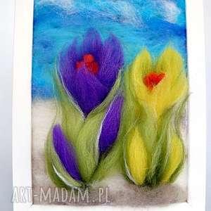 przedwiośnie obraz z kolekcji die wunderschöne natur - łąka