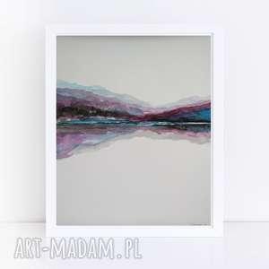 pejzaż-abstrakcja-akwarela formatu