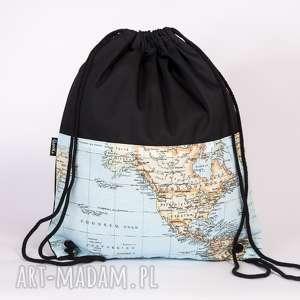 światowy worek, plecak, torba, świat, mapa