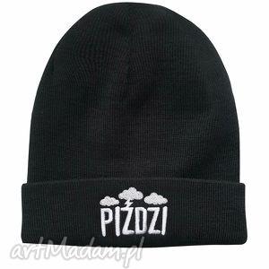 czapka piździ - haft, naszywka, prezent, zima, jesień, urodziny