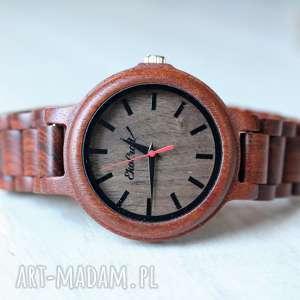 ręcznie robione zegarki damski drewniany zegarek seria full wood