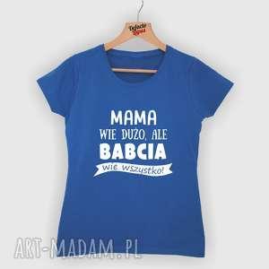 Prezent Koszulka z nadrukiem dla babci, od wnuków, wnuka, wnuczki, prezent, najlepsza
