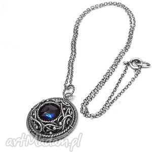 hand-made wisiorki sapphire