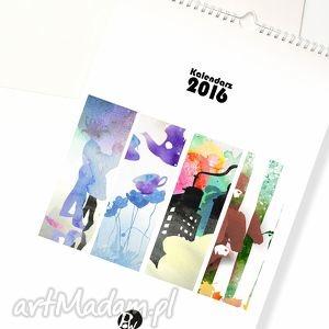 Kalendarz 2016 do zawieszenia na ścianie..., kalendarz, 2016, a4, ścienny, 20x30
