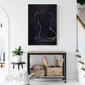 plakaty subtelny i zmysłowy akt kobiecy 70 x 100 cm, 2489999