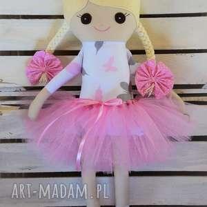 Szmacianka, szmaciana lalka w tutu, szmaciana, szyta, szmacianka, lalka, baletnica