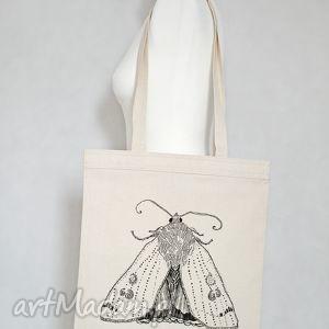 eko torba na zakupy ćma, torba, eko, ekologiczna, zakupy, bawełniana, ćma