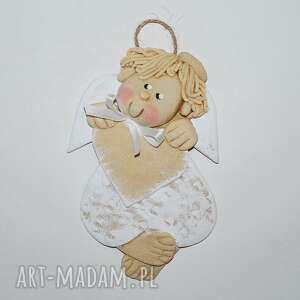 Dla marcina - aniołek z sercem pokoik dziecka magosza anioł