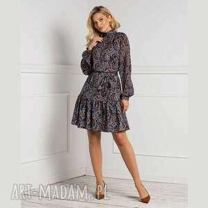 pod choinkę prezenty, sukienka imar mini andrea, ze stójką