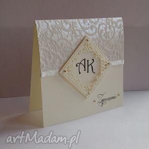 Zaproszenie na ślub - ,ślub,zaproszenia,wesele,kartka,