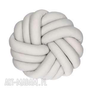 Ręcznie pleciona dekoracyjna poduszka supeł swirl knotpillow