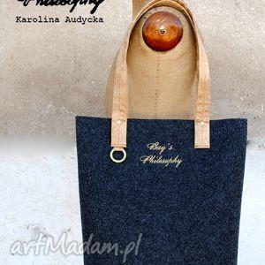 ręcznie wykonane torebki zamówienie specjalne - zestaw toreb kasia ch