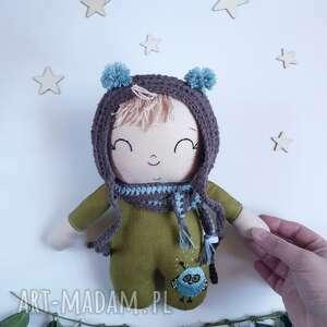 lalka leśny skrzat-nieśmiałek, skrzat, elf, krasnoludek, mól