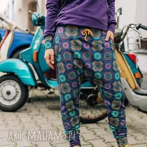 ręcznie robione spodnie baggy - ciao piccola