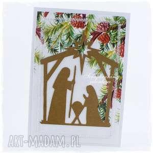 ręcznie robione pomysł na prezent na święta boże narodzenie - kartka