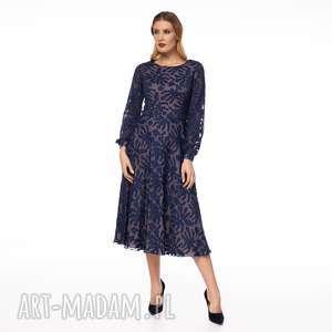 Sukienka keteran sukienki pawel kuzik wesele, moda, midi