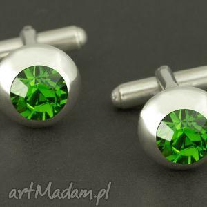 handmade spinki do mankietów luksusowe (zielone) lukato