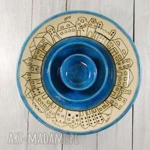 Misa, misy, komplet sgraffito, na-owoce, na-sałatki, misa-handmade, misa-użytowa
