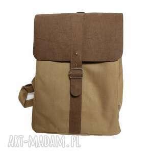 plecak desert iguana, wodoodporny, na laptopa, brązowy