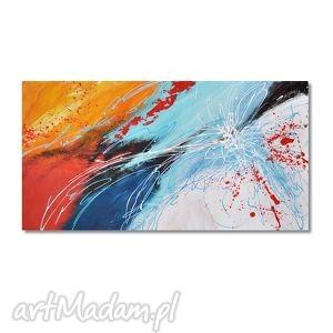 abstrakcja mk1, nowoczesny obraz ręcznie malowany, abstrakcja, nowoczesny