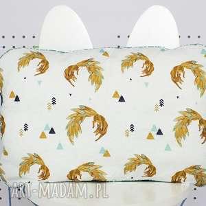 Płaska Poduszka do łóżeczka Firefox, poduszka, płaska, łóżeczko, pościel, lis