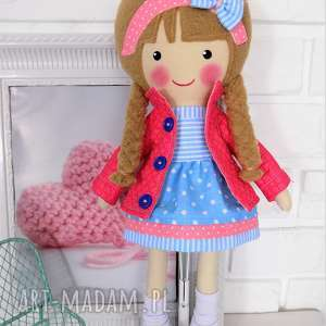 Prezent MALOWANA LALA ALICJA, lalka, zabawka, przytulanka, prezent, niespodzianka,