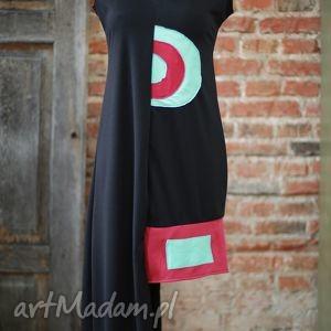 Labirynt złudzen-sukienka sukienki ququ design mini