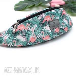 handmade nerki nerka / saszetka damska 1096 flamingi