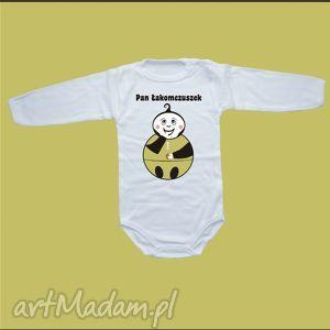 babygiftshop body niemowlęce pan/panna łakomczuszek, body, bluzka, ubranka
