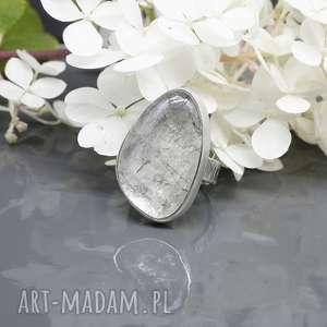 kwarc turmalinowy - pierścionek thurin, pierścionek, turmalinowy, surowy