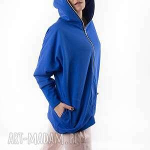 hand-made bluzy bluza nietoperz chabrowa conscious