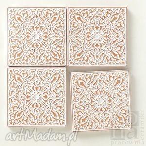 kafle 9,8cm moderato białe, kafle, dekory, płytki, ścienne, orientalne ceramika