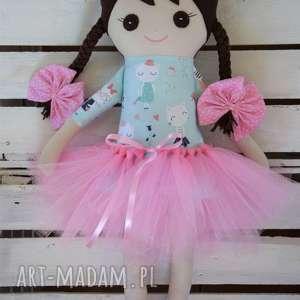 szmacianka, szmaciana lalka w tutu, szmaciana, lalka, przytulanka