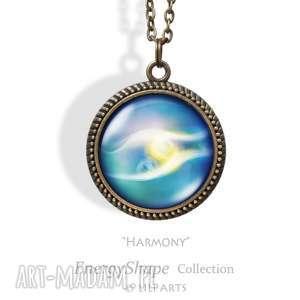 medalion, talizman - zgoda - harmony - antyczny brąz - naszyjnik, harmonia, prezent