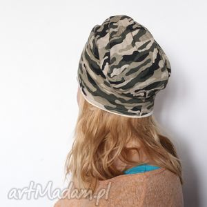 czapka damska męska dziecięca moro - czapka, damska, męska, moro