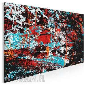 obraz na płótnie - abstrakcja nowoczesny 120x80 cm 00102