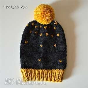 Czapki the wool art czapka, na głowę, wełniana
