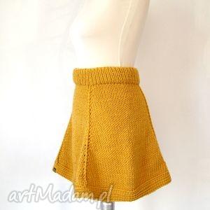 rozkloszowana spódnica z klinów - różne kolory, spódnica, spódniczka,