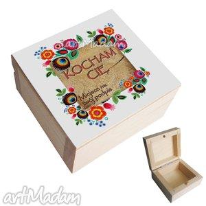 Szkatułka folk z twoją dedykacją pudełka pracownia inspirnet