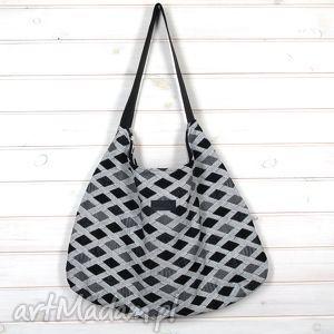torba julia na ramię wzorki, torba, prezent, pojemna, wytrzymała, duża, xxl