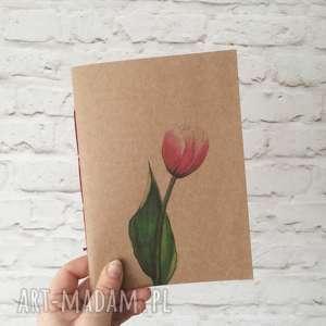 Brulion - notatnik zeszyt szkicownik Tulipan, zeszyt, notes, notatnik,