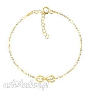 celebrate - infinity bracelet g, nieskończoność, infinity, łańcuszek bransoletki