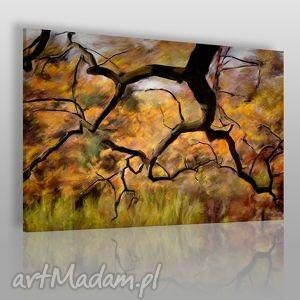 obrazy obraz na płótnie - drzewa park 120x80 cm 27501 , drzewo, park, gaj