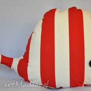 Wieloryb zabawka piękna ozdoba prezent handmade zabawki pinezka